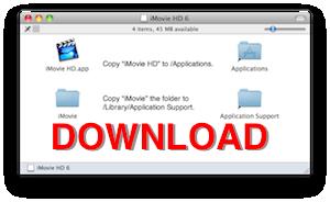 Download iMovie HD